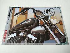 Yamaha XV 125 Virago de 2000 Prospectus Catalogue Brochures Moto