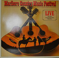 "Marlboro Country Music Festival - Live from The Circus Krone-Bau 12 "" LP (N781)"