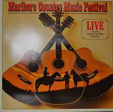 """MARLBORO COUNTRY MUSIC FESTIVAL - LIVE AUS DEM CIRCUS KRONE-BAU  12""""  LP (N781)"""
