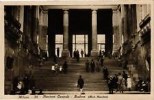 CPA Milano Stazione Centrale-Scalone. ITALY (553195)