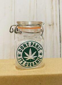 Storage Jar, Herb Jar, Stash Jar
