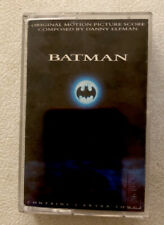 Batman [Original Motion Picture Score] by Danny Elfman (Cassette, Aug-1989).