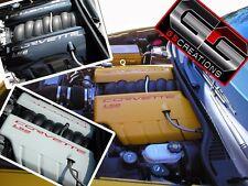 C6 Chevy LS2 Corvette Color Coded GM FUEL RAIL COVERS