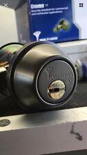 Mul-T-Lock Junior - Single Deadbolt Oil Rub Bronze High Security Deadbolt
