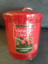Yankee Candle Spicy Pepperberry & Spruce Single Wrapped Votive 1.75 Oz