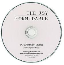 THE JOY FORMIDABLE GREYHOUNDS IN THE SLIPS 1 TRACK PROMO CD [PAUL DRAPER/MANSUN]