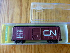 Model Power N #3435 (Rd #123175)40' Boxcar Canadian National CN Rapido Couplers