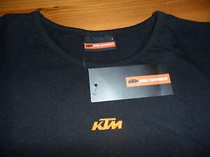 ^ KTM, genuine tagged, Girls Logo Tee Black Tshirt,  XL
