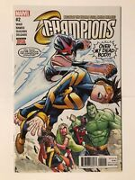 Champions #2 Mark Waid Marvel Comic 1st Print 2017 unread NM