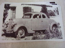 1935 FORD  5 WINDOW COUPE  11 X 17  PHOTO /  PICTURE