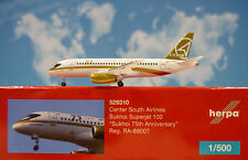 Herpa Wings 1:500 Sukhoi Superjet 100 Center South Airlines ra-89007 529310