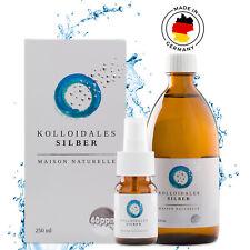 MAISON NATURELLE   Kolloidales Silber 40 PPM 250 ml / 500ml + Ebook + Zerstäuber
