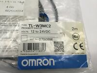 Omron TL-W3MC2 Proximity Switch 12-24VDC 2M TLW3MC2 Sensors New In Box