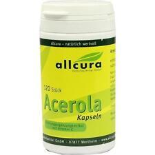 ACEROLA KAPSELN natürl.Vitamin C 120St Kapseln PZN 3994900