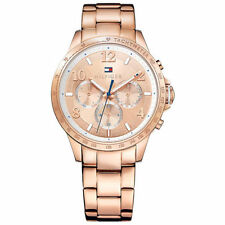 Relojes de pulsera fecha Deportivo de oro rosa