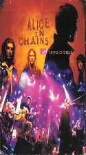Alice In Chains - Unplugged (VHS)  MTV Alternative Hard Rock  Hi-Fi Stereo Dolby