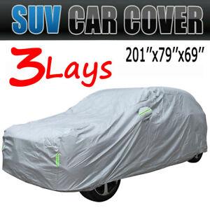 SUV Full Car Cover Waterproof Sun UV Snow Dust Rain Resistant For Ford Explorer