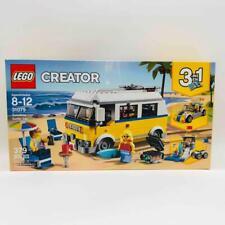 New/Sealed Lego Creator 31079 Sunshine Surfer Van 3-in-1 Retired Beach Surfing