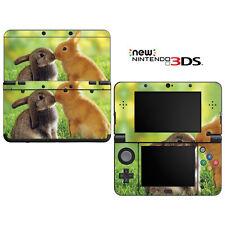 Vinyl Skin Decal Cover for Nintendo New 3DS - Honey Bunny Kisses