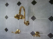 Manor House Heritage Dorf Gold. Shower set 1/2 turn Lever High quality taps.