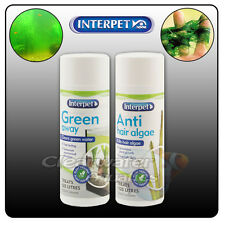 Interpet Anti Hair Algae Green Water Aquarium Treatment Fish Tank Stringy Beard