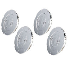 "OEM NEW 18"" Wheel Hub Center Cap Set of 4 w/ Logo Chrome 07-09 Escalade 9597286"