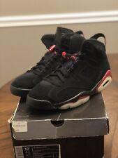 Air Jordan Retro 6 Black/ Varsity Red (2010) Size 10.5