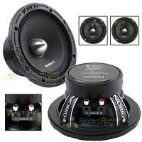 "2 Orion Audio 1400 W Watt 6.5"" Mid Range Bass Loud 4 Ohm Speakers Pair XTX654"