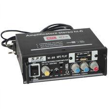 Mini Amplificateur S.p.f M-20 12 - 220 Volt pour Maison Auto Moto Campeur Van
