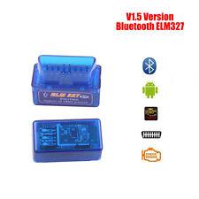 ELM327 V1.5 Bluetooth OBD2 Diagnostic Tool OBDII Code Reader Scanner For Android
