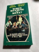 WHO'S MINDING THE MINT? JOEY BISHOP, MILTON BERLE, VHS 1988 GOODTIMES