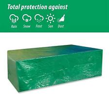 Garden Furniture Cover Waterproof Patio Set Cover Large Rectangular Shaped Green