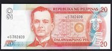 Philippines 20 Pesos NDS Cory / Cusia STAR / Replacement NOTE Unc