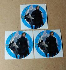 Disney Stickers - Lot of 3 - Kristoff & Sven