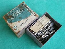 Vintage Russian Dip Pen Nibs Nickel Coated USSR 1960's pack of 160 pieces. NOS