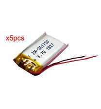 5 pcs 3.7V 150 mAh Li-polymer Rechargeable Battery Li-Po ion 351730 for mp3 mp4