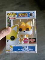 Funko Pop! Sonic The Hedgehog Tails Flocked TARGET CON Pre Order