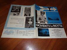 BROCHURE,1961,GIOVENTU' DI NOTTE,Magali Noël, Stefania Sandrelli,Frey,Sequi,sexy