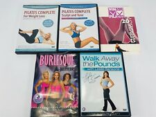 Body wise Jazzercise yoga pilates DVD Workout at home Video Lot