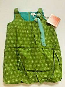 Trish Scully Green Bubble Dress 6X NWT Girls Boutique