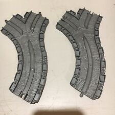 """Two 6"""" CST MMF FFM Tracks for Thomas and Friends Take Along Take N Play"""