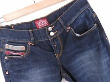 MV251 SUPERDRY VINTAGE JEANS JPN PANTS LOW-RISE ORIGINAL PREMIUM size 30