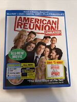 American Reunion w/ Slipcover (Bluray/DVD, 2012) [BUY 2 GET 1]