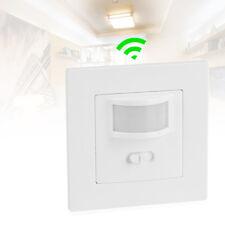 PIR Infrarot Bewegungsmelder Bewegungssensor Lampe Lichtschalter Unterputz 140°