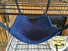 Cosy large hammock ferret,rat,chinchilla,degu. Small Pets . Navy