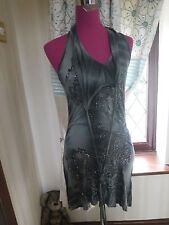 Amazing All Saints Pirini Ditty Dress Greys  Size 10 Excellent Condition
