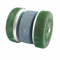 Kitchen Plastic Wheel Grit  Whetstone Sharpener Tool Green