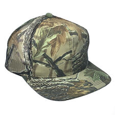 Realtree CAMO MESH BACK Camouflage patterns Structured Hunting Hat Cap 223