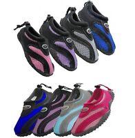 Childrens Kids Boys Girls Slip On Water Shoes/Aqua Socks/Pool Beach, Sizes: 11-4