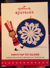 Tippity-Tap Toy Soldier Hallmark Ornament (Limited Edition 2015)  New in Box